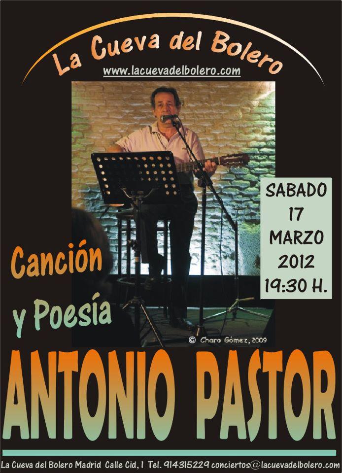 Concierto Antonio Pastor 17 de marzo 2012