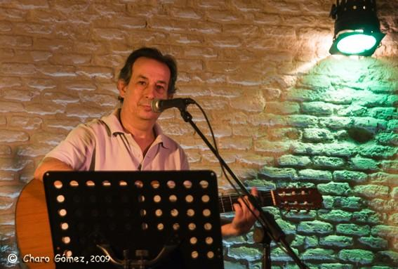 Antonio Pastor por Charo Gómez.