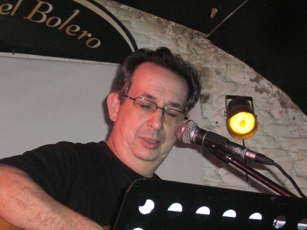 Fotografía Antonio Pastor en concierto
