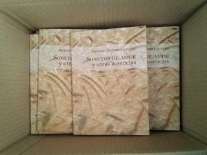 Ya está a la venta el nuevo libro de Antonio Pastor Gaitero: Sonetos de Amor y Otras Ausencias