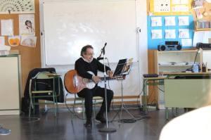 Aula de música 5º curso C.E.I.P. JOSÉ JALÓN de Navalcarnero