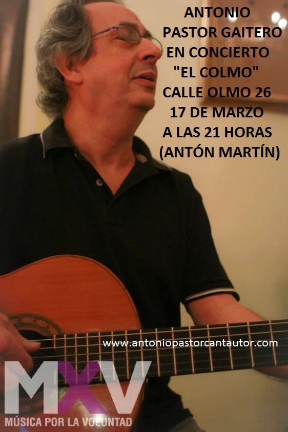 Foto cartel concierto 17 de marzo