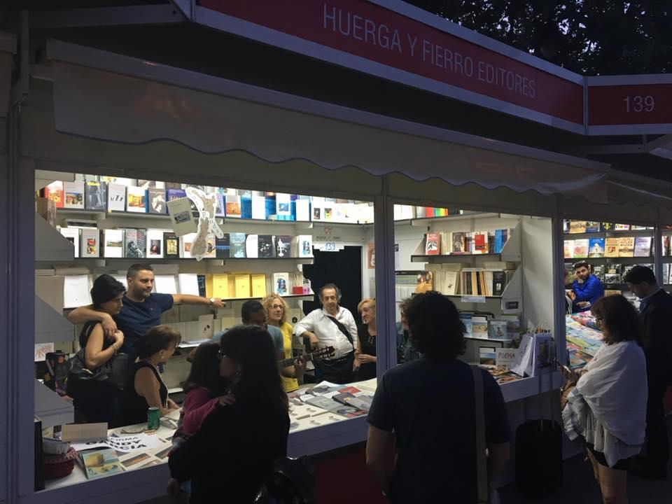 Feria del libro de Madrid 2016-- 1 de junio