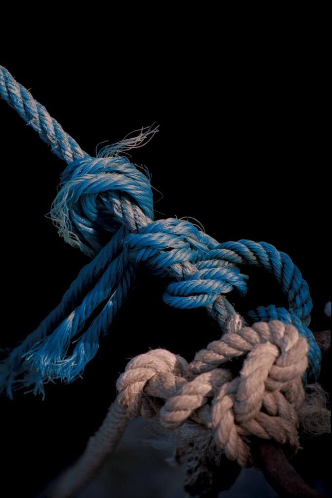 lazo marinero azul